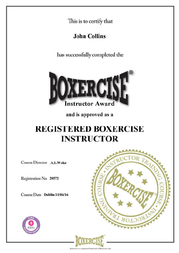 Boxercise Instructor