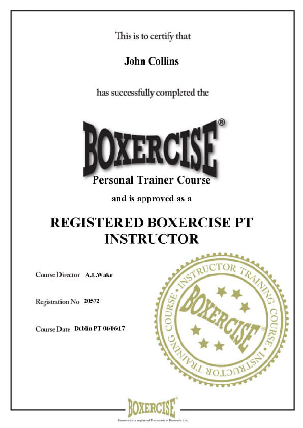 Boxercise Personal Trainer